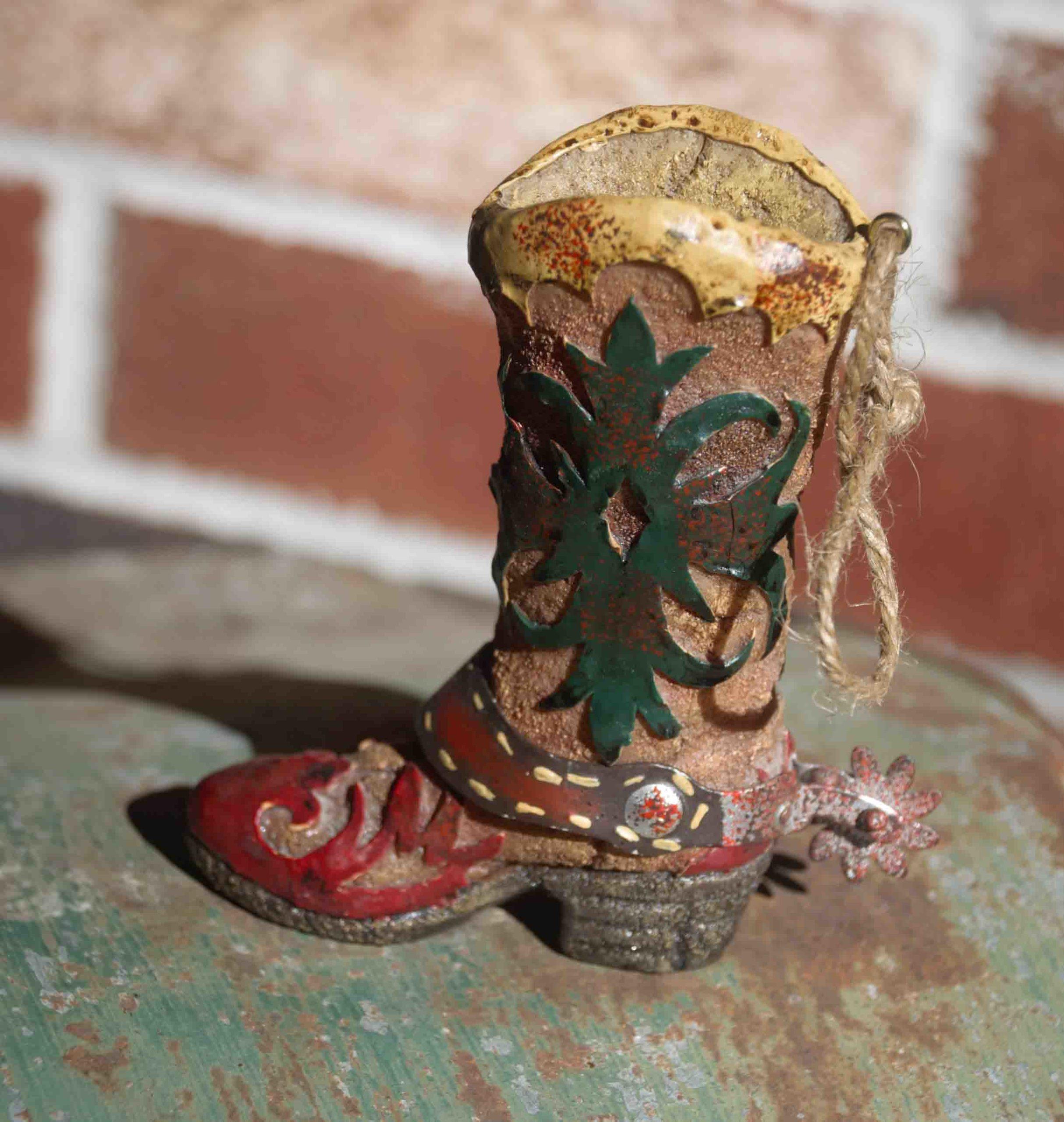 Boot Christmas Ornament