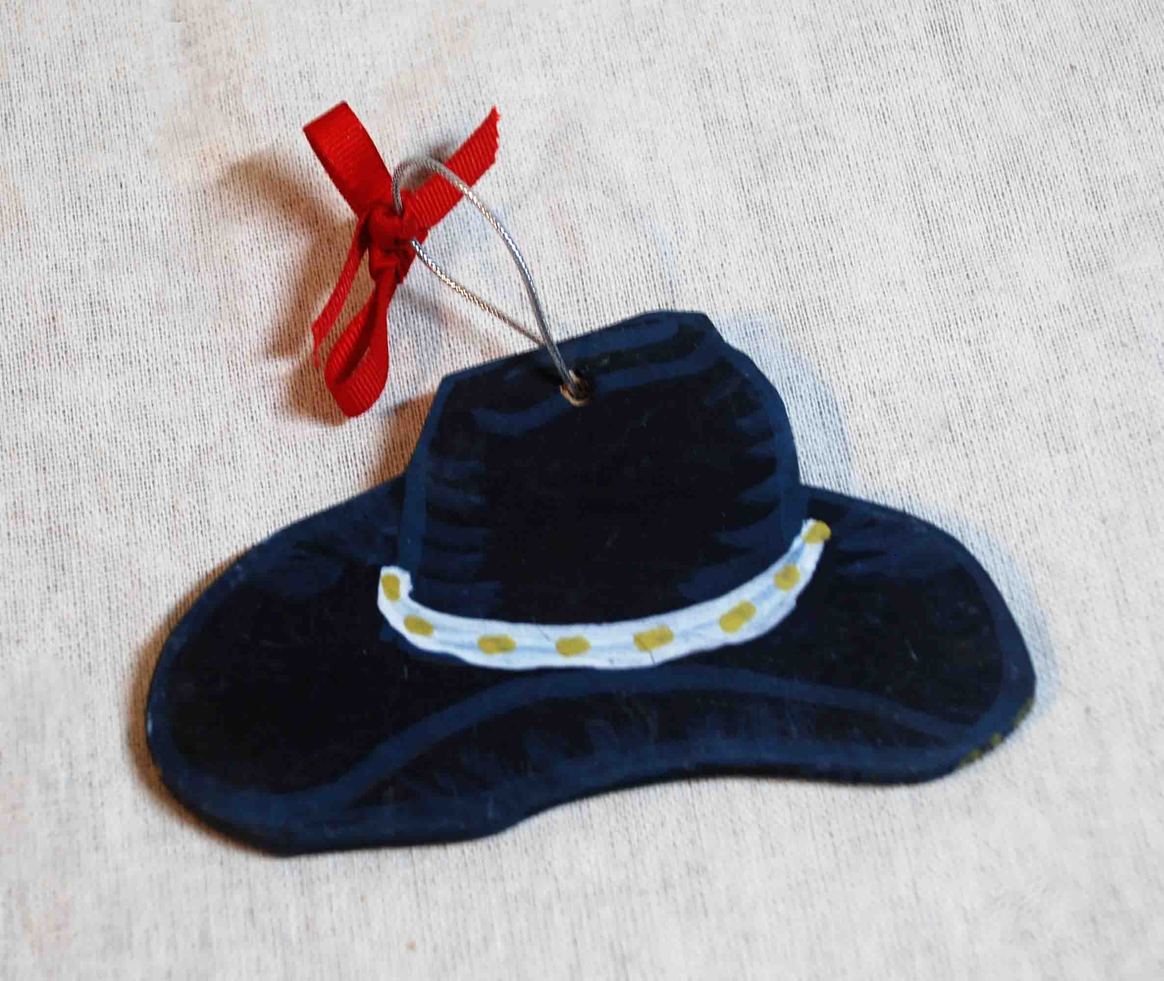 Black Hat Ornament