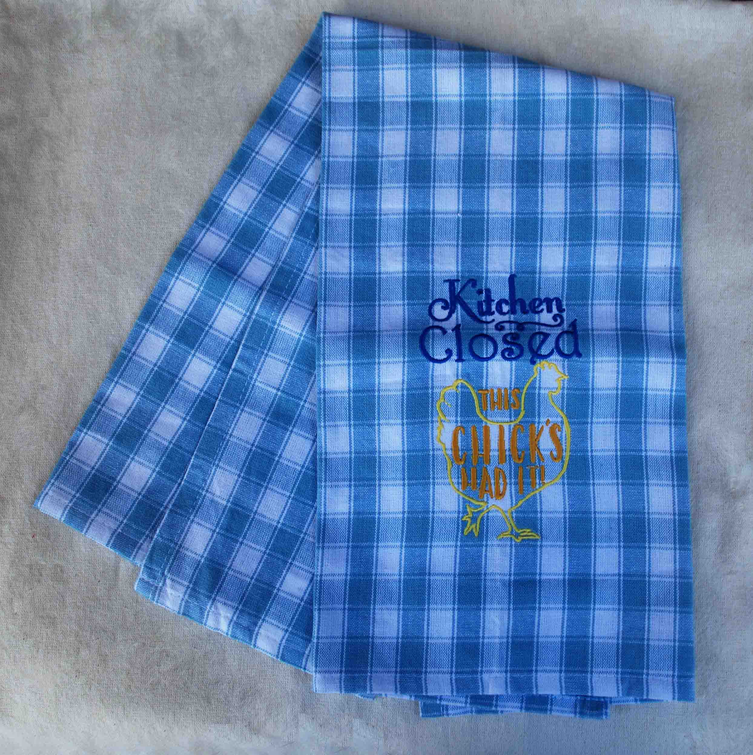 Embroidered Tea Towel (ETTA)