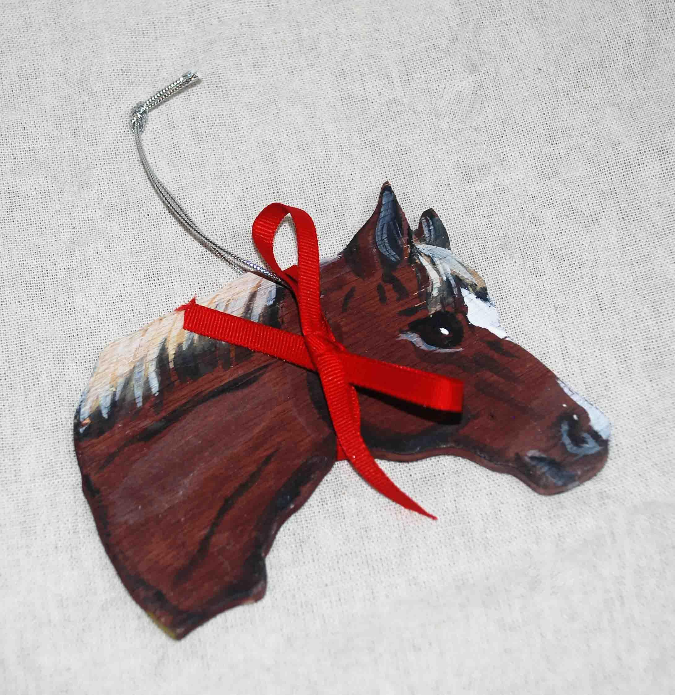 Horse Head Ornament