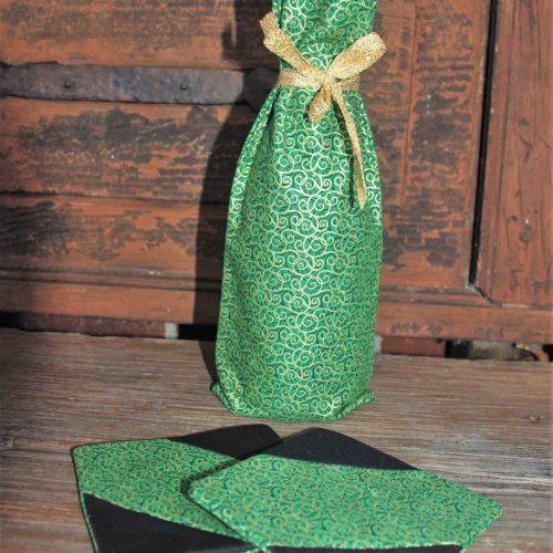 Wine Bottle Wrap Set